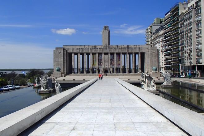 Monumento à bandeira, em Rosário, Argentina.