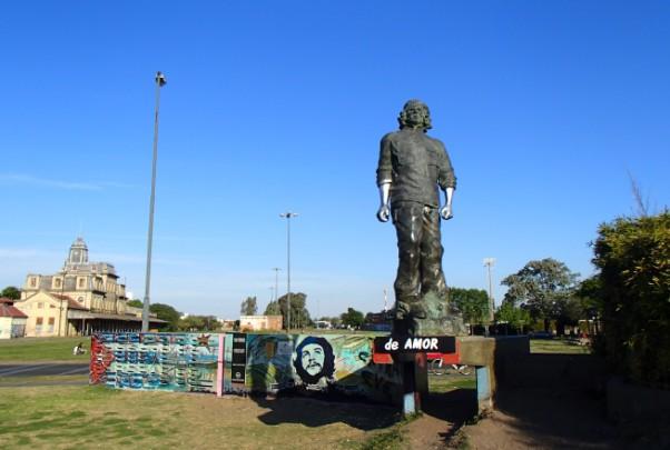 Estátua de Che Guevara em Rosário