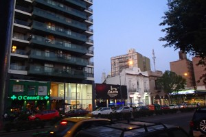 Avenida Pellegrini, em Rosário