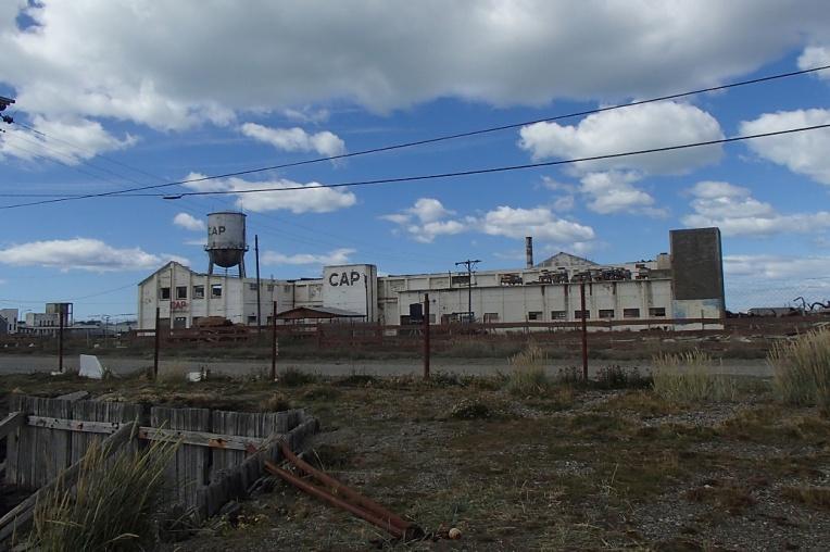 Frigorífico abandonado em Rio Grande